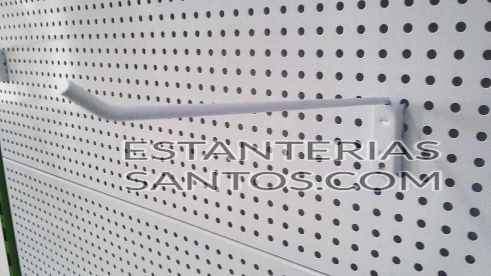 Gancho directo para fondos perforados estanterias santos - Ganchos para estanterias ...