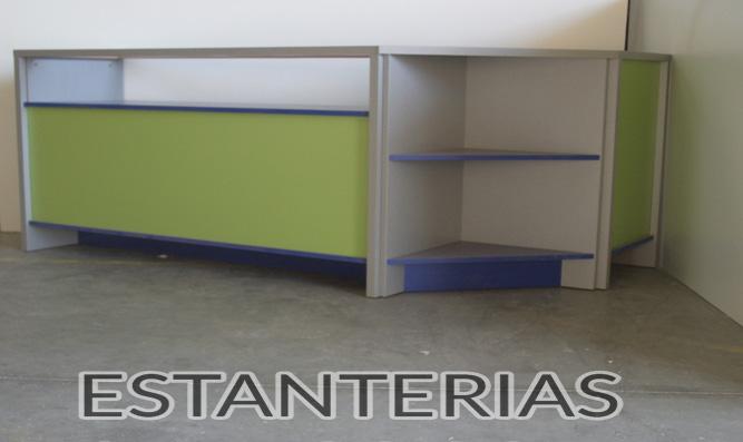 Mueble rinconera abierta tipo 2 estanterias santos - Mueble rinconera ...