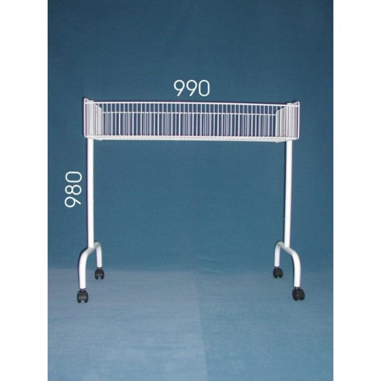 Expositor oferta 1 nivel con ruedas estanterias santos - Ofertas estanterias metalicas ...